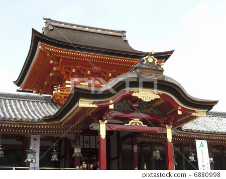 图库照片: 神社和庙宇 石清水八幡宫 八幡神社