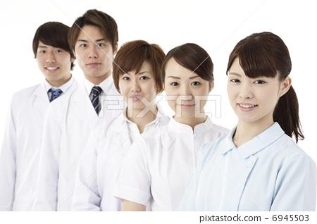 照片素材(图片): 护士 牙齿矫正医师 医生