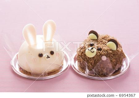 甜品 杯子蛋糕 糖果