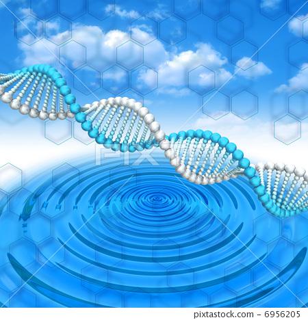 图库插图: 基因 漩涡 个人简介