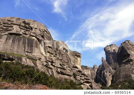 照片 形状独特的石头 悬崖 米特奥拉 首页 照片 风景_自然 大地 悬崖