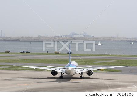 喷气式飞机 跑道 飞机