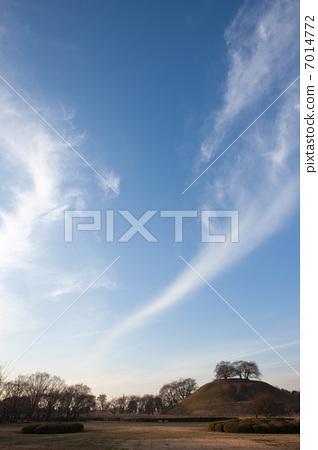 pixta限定素材      秋天的天空[7014772] 图库照片包含丸墓山古坟
