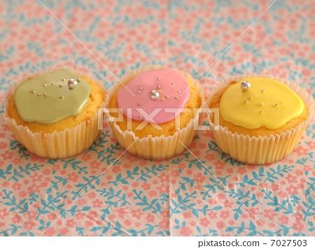糖果 甜品 杯子蛋糕