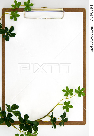 照片素材(图片): 白板 剪贴板 办公用品