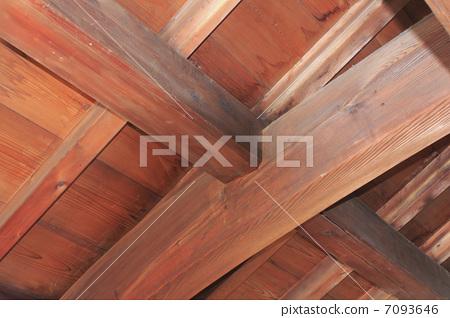照片: 横梁 木结构 木框