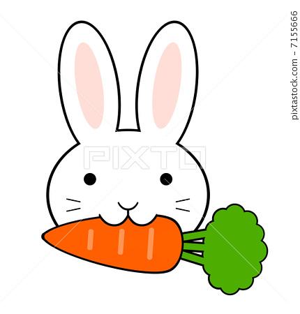 兔子切胡萝卜表情包分享展示