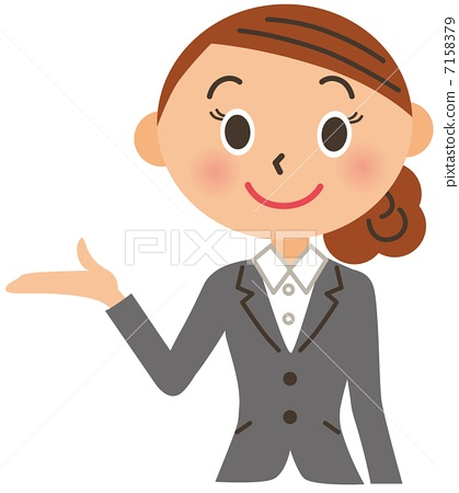 女企业家 矢量图 矢量