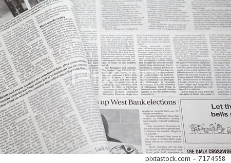 英文报纸 报纸 商业