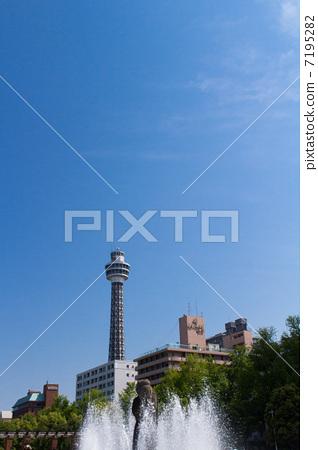 横滨海洋塔 港口的瞭望塔