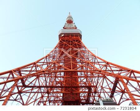 无线电塔 天线杆 东京铁塔