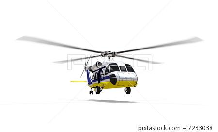直升飞机 旋翼