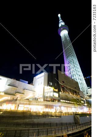 天线杆 无线电塔 东京晴空塔