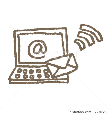 计算机 个人电脑 邮件