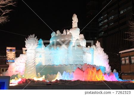图库照片: 札幌冰雪节图片