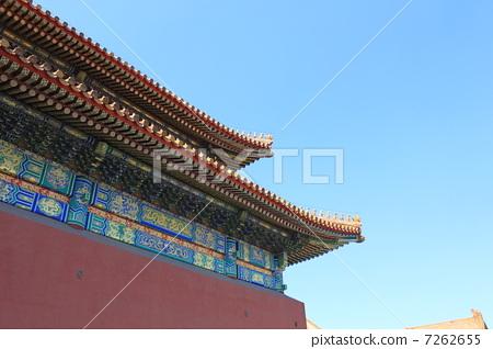 古代皇室宫殿 白天图片