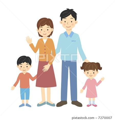 全家福油画-初为父母的3口之家合影照片画油画_乐乐简