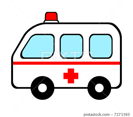 插图素材: 救护车 车 交通工具