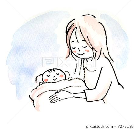 婴儿 宝宝 母亲