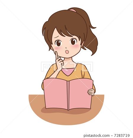 插图素材: 阅读 矢量 书籍