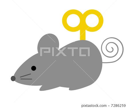 钟表机构 首页 插图 动物_鸟儿 宠物_小动物 老鼠 鼠标 老鼠 钟表机构