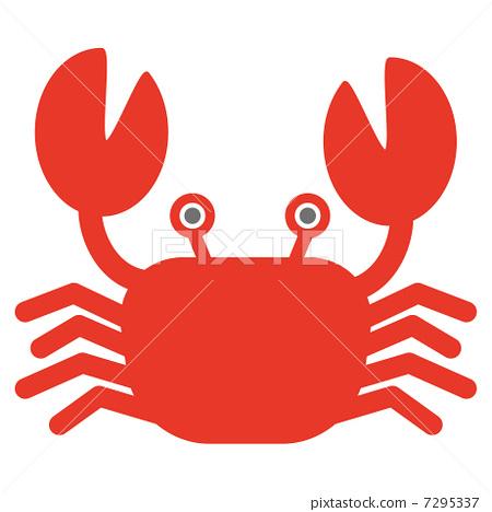 矢量图 矢量 螃蟹