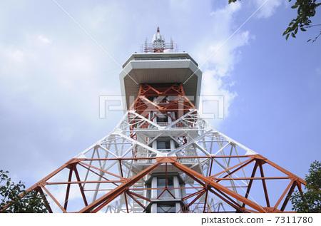 天线杆 无线电塔 尖塔