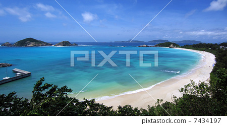 渡嘉敷岛阿波连ビーチ 7434197