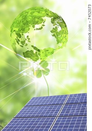 光伏 生态形象 太阳能板
