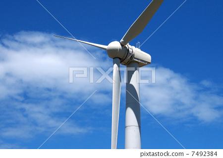 风车 风力涡轮机 发电机图片