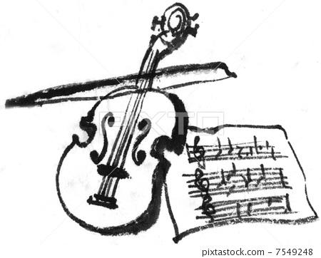 小提琴 弦乐器 乐器
