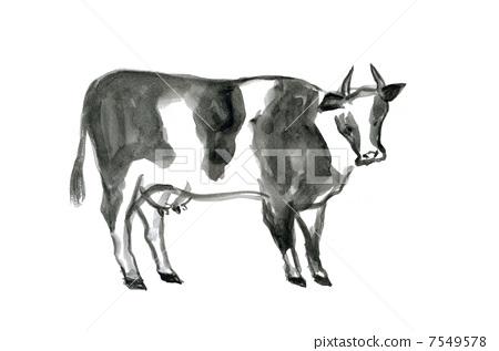 牲口凉亭设计图纸