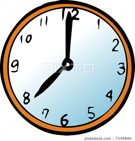 时钟4点钟敲4下_时钟简笔画图片图片展示_时钟简笔画图片相关图片下载