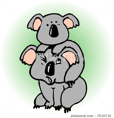考拉 动物 stock 插图
