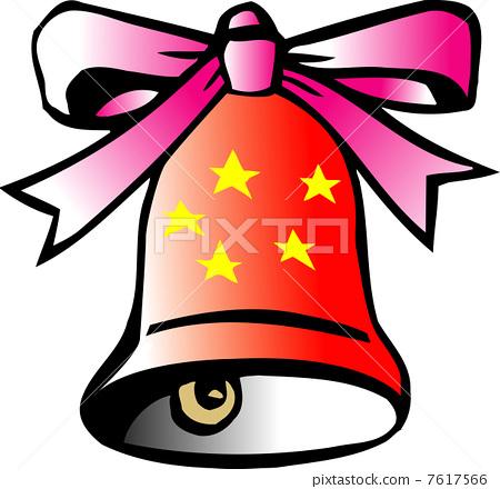 圣诞节 尤尔 铃铛-图库插图 [7617566] - pixta