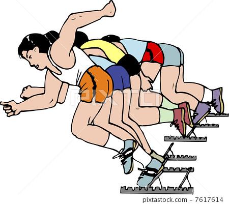 运动健身 土地 径赛项目