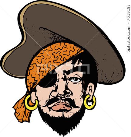 一年级海盗画画大全