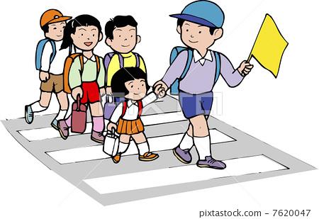 徒步活动矢量图