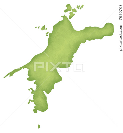 地图 四国地区 地图学
