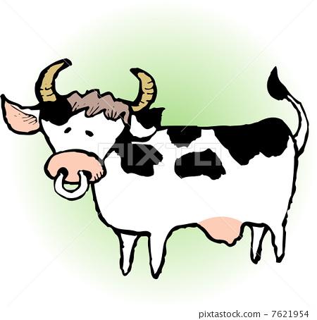 卡通牛肉海报素材