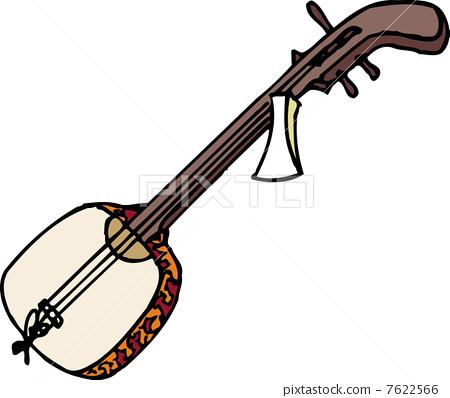 三弦琴故事 图片合集图片