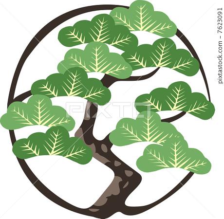 松树设计图__树木树叶