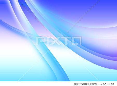 青色欧式底纹ppt