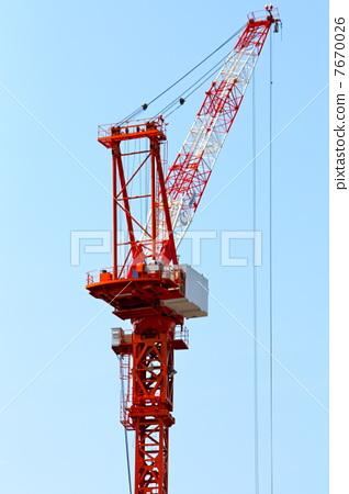 图库照片: 塔式起重机 吊车 鹤