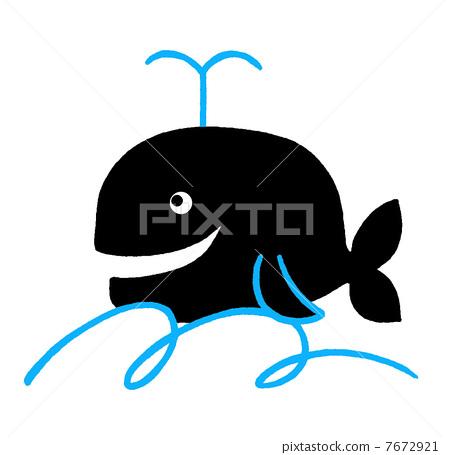 可爱动物鲸鱼头像