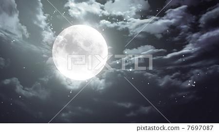 月亮素材picsart