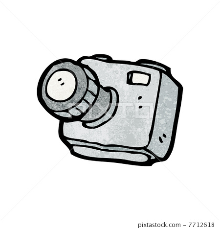 cartoon camera - Stock Illustration [7712618] - PIXTA