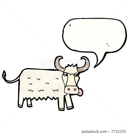 牦牛简笔画步骤