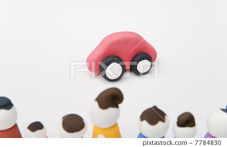 交通工具 车辆 橡皮泥