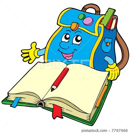 book卡通图片